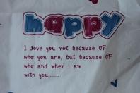 text Happy